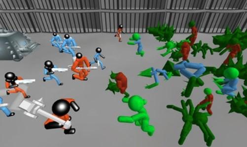 火柴人战斗模拟器僵尸监狱