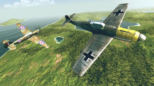 浴血战机二战空战