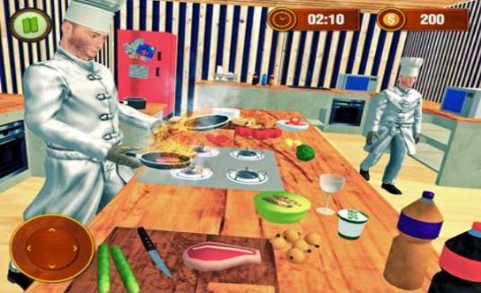 虚拟家庭煮饭