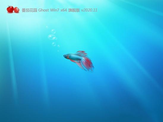 番茄花园 GHOST WIN7 X64 原装旗舰版 v2020.11