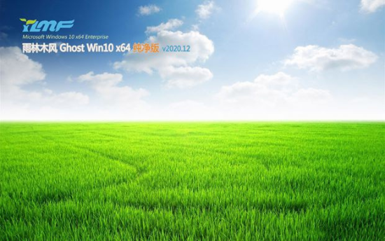 雨林木风 Ghost Win10 x64位 家庭纯净版 v2020.12