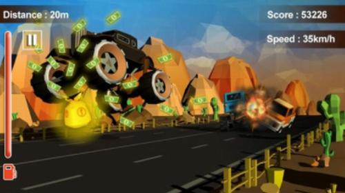 狂暴的汽车战场