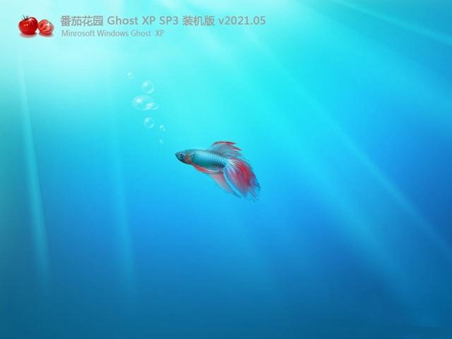 番茄花园 Ghost XP SP3 万能装机版 v2021.05